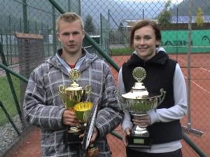 TTK Vereinsmeister Stephan Bhm und Sabine Huber