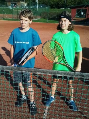 Keanu und Moritz