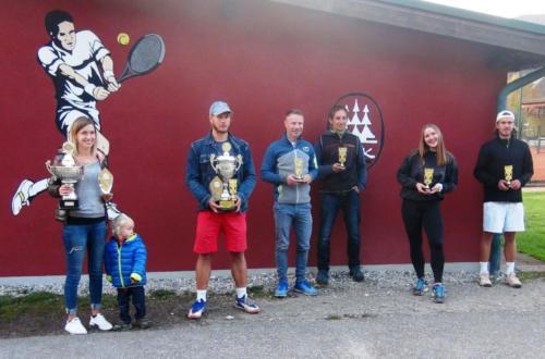 Vereinsmeister Einzel, Doppel, Mixed
