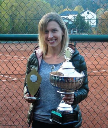 Vereinsmeisterin Sandra Anzberger